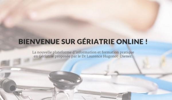 Découvrez le site GériatrieOnline réalisé par l'agence PRP