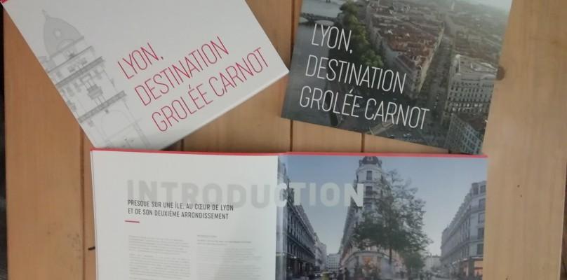 Un beau livre sur l'histoire de la presqu'île de Lyon